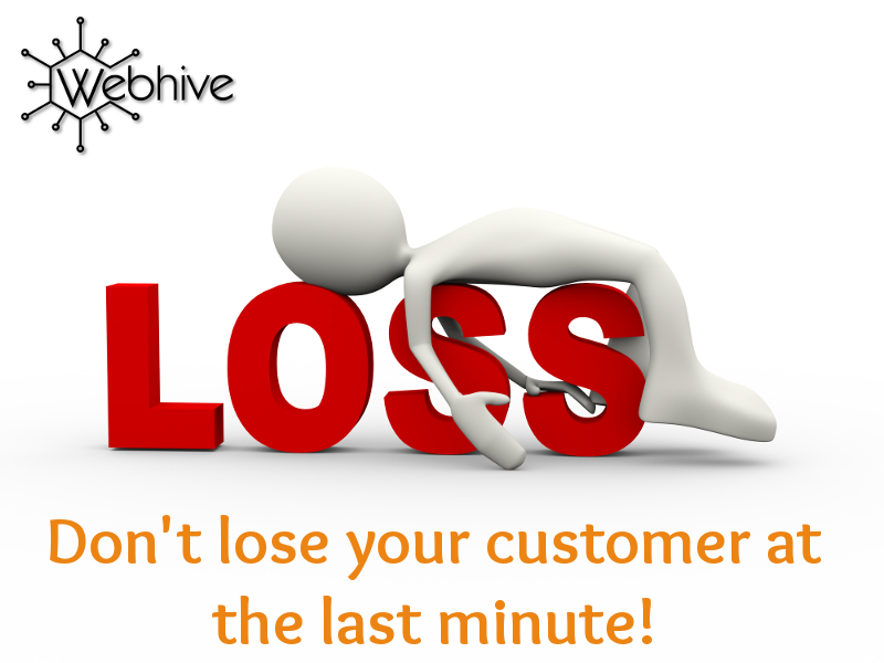 Don't lose your customer at the last moment!… The Golden Thread Part V