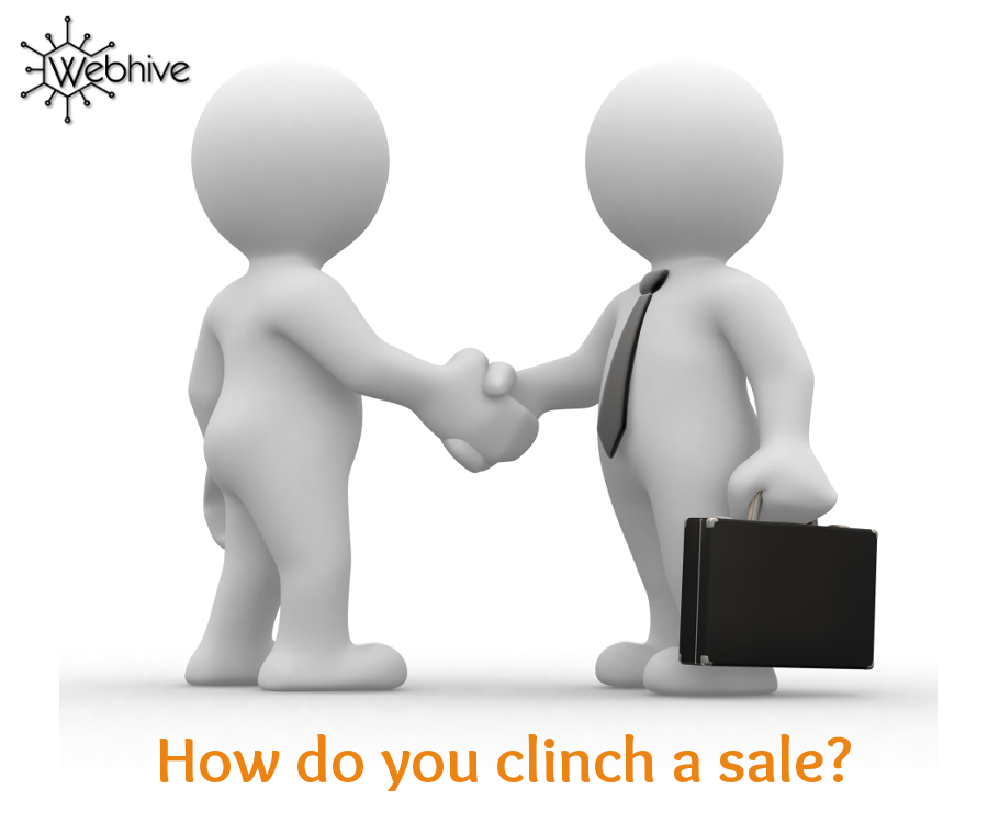 How do you clinch a sale?… The Golden Thread VI