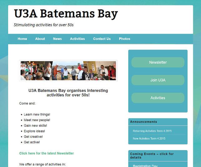 Visit bbay.u3anet.org.au