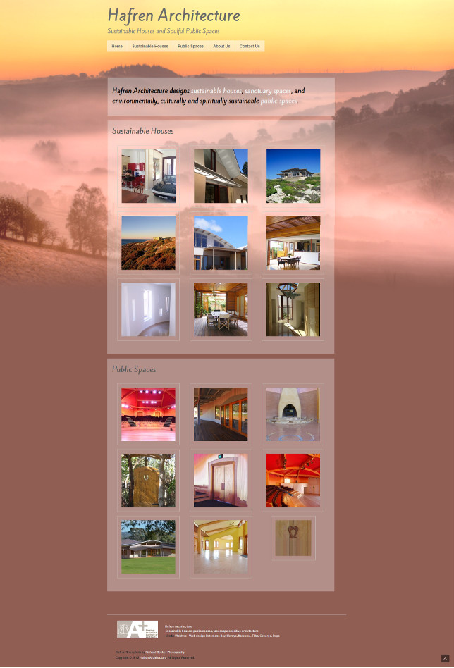 Hafren Architecture - sustainable houses