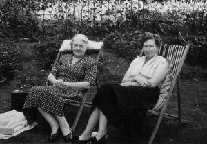 Lee with Queenie in Uganda