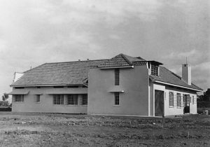 House at Entebbe before Landscaping