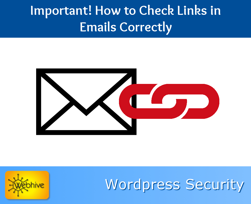Important! How to Check Links in Emails Correctly